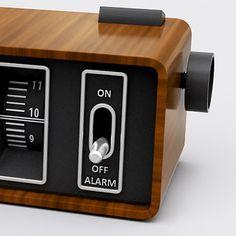 retro digital alarm clock - Google Search