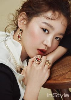 Delicate Beauty Shin Hye Sun For February InStyle | Couch Kimchi