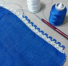 "Diy Crafts - ""pixels \""Crochet lace and trim\"", \""This post was discovered by HUZ\"""", ""This post was discovered by Emine Tokgoz. Crochet Boarders, Crochet Edging Patterns, Crochet Lace Edging, Crochet Trim, Crochet Designs, Knitting Designs, Crochet Stitches, Knit Crochet, Filet Crochet"