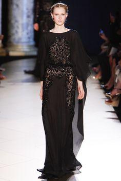 Elie Saab Fall 2012 Couture Fashion Show - Julia Nobis (Viva)