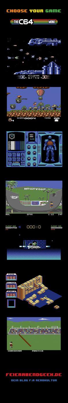 Perfect  The C Mini bringt die legend ren Games des Commodore zur ck in dein Wohnzimmer