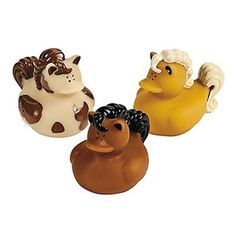 (3pc) Vinyl Horse Rubber Duckies. Listed price is for 3 Vinyl Horse Rubber Duckies. Duck measures approx.5cm. Duckies do not float upright. SAVE WHEN YOU BUY MORE THAN ONE ITEM . We import directly from US and UK to save you money.   eBay!