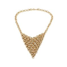 "Treasures D'Italia 14K Gold Intricate Link 18"" Necklace"