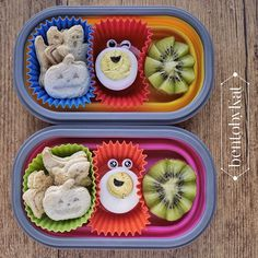 Day 32: October 21, 2014  snack:  mini sandwiches with cowhead cream cheese spread boiled egg kiwi