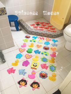 Швейцария экспортирует различные антибактериальные ПВХ мило ванны наклейки коврик для ванной коврик познавательные наклейки - Taobao
