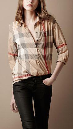 burberry shirt <3