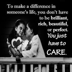 To make a difference in someone's life...  #inspiration #motivation #wisdom #quote #quotes #life