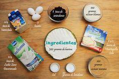 Ingredientes para preparar unos deliciosos Muffins