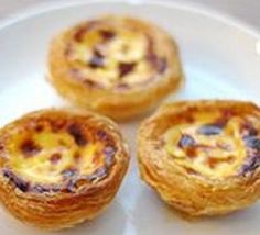 Portugese Custard Tarts. Oh yes!