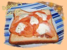 Croque au saumon ... recette ww - Recette Ptitchef