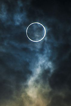 Annular solar eclipse over Tokyo on 20th May 2013 - photo by Ben Smethers, via Flickr