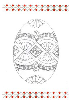 ukraine eggs coloring pages - photo#40