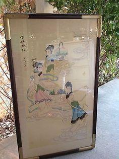 Image result for hanging scroll frame