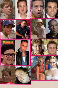 The Sandlot. Then and Now