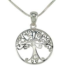 Tree of Life Pendants with Box Chain 65521976 *** Visit the image link more details. Note:It is affiliate link to Amazon.