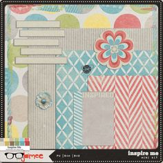 Inspire Me tiny kit from Just Jaimee