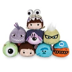 Monsters, Inc. Mini ''Tsum Tsum'' Plush Collection | Disney Store