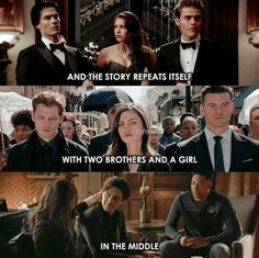 Not true in the same way for originals as the rest but yeah. Its not really true for the Originals but for Legacies and TVD yeah. Klaus From Vampire Diaries, Vampire Diaries Quotes, Vampire Diaries Wallpaper, Vampire Diaries The Originals, The Originals 3, The Cw Shows, Best Tv Shows, Damon Salvatore, Supernatural Series