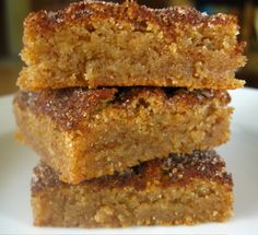 Snickerdoodle Bars, how delish.