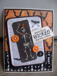 Something wicked this way comes - Scrapbook.com