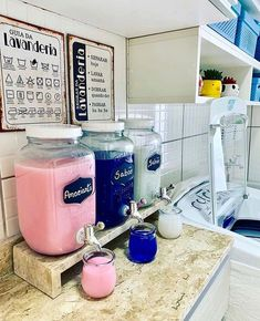 Laundry Room Remodel, Laundry Decor, Laundry Room Organization, Laundry Room Design, Laundry Detergent Storage, Laundry Soap Container, Landry Room, Laundry Room Inspiration, Home Organisation