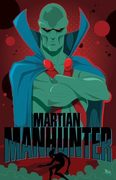 Martian Manhunter by Mike Mahle