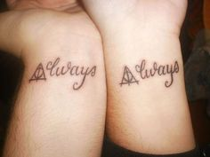 Harry Potter tatto.