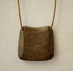 Wooden Jewelry by Anja Jingrich.