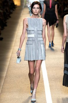Fendi Spring 2015 Ready-to-Wear - Collection - Gallery - Look 1 - Style.com