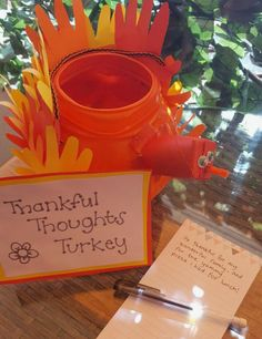 The candy's all gone, but that doesn't mean you need to chuck the pumpkin just yet - create your own special gratitude turkey with this fun diy tutorial! Create Yourself, Create Your Own, Fun Diy, Halloween Pumpkins, Diy Tutorial, Gratitude, Activities For Kids, Turkey, Thankful