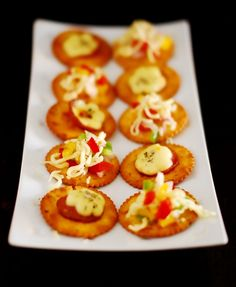 Veg And Non Veg Canapes – Easy Appetiser Recipe