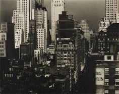 North from An American Place, New York.Alfred Stieglitz