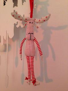 Christmas reindeer - Renna di Natale di TinyPollysBox su Etsy