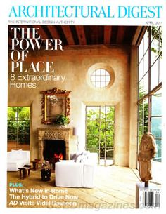 Architectural Digest April 2011