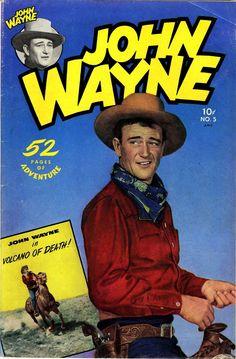 John Wayne Adventure Comics #5, October 1950
