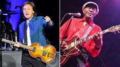"""Paul McCartney wrote a tribute to Chuck Berry, calling the late rock legend a """"magician"""" who deeply influenced the Beatles."""