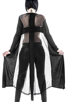Queen of Darkness Cross Women's Cardigan from Attitude Clothing