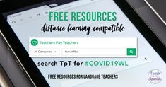 Lesson plans for COVID-19 school closure / 10+ days of Spanish class work - The Comprehensible Classroom