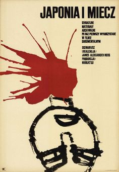 1966 Polish poster for JAPAN AND THE SWORD (James Alexander...