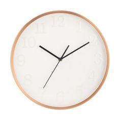 Rose Gold Look Clock | Kmart