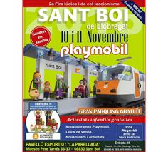 Fira Playmobil Sant Boi de Llobregat Comic Books, Comics, Cover, Events, Playmobil, Cartoons, Cartoons, Comic, Comic Book