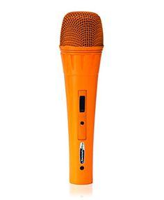 JAMMIN PRO MIC019 My Orange Handheld Microphone * For more information, visit image link.