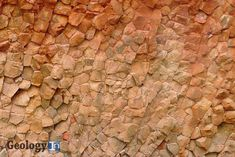 The unique structure of the Columnar Sandstones   Geology IN