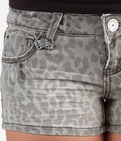Almost Famous Cheetah Print Stretch Short - Women's Shorts | Buckle