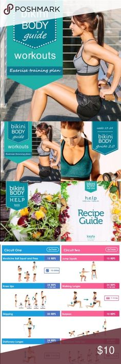 New year! New you! BBG BBG 1.0 & 2.0 + healthy eating guide and recipes. Leave your email address and I will send PDF files. You choose the a way of paying app. Nike Other