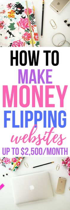 Wow, you can earn thousands per month from flipping sites? Check out Jenn's method for banking over $30K last year flipping websites! (Ad) #blogging #bloggingformoney #makemoneyblogging