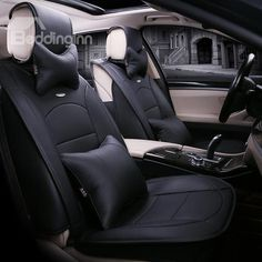 Classic and Formal Protective Material Single Colored Car Seat Cover