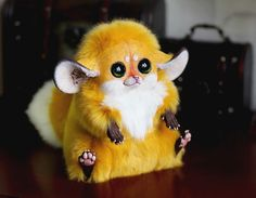 Funny pictures about Ultra-realistic Fantasy Dolls. It's Scary How Real They Look. Oh, and cool pics about Ultra-realistic Fantasy Dolls. It's Scary How Real They Look. Also, Ultra-realistic Fantasy Dolls. It's Scary How Real They Look. Cute Fantasy Creatures, Weird Creatures, Mythical Creatures, Gremlins, Inari Fox, Santani Dolls, Fox Toys, O Pokemon, Pokemon Plush