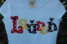 Custom Personalized Name Shirt or Onesie with by GiggleBabyDesigns