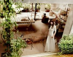 David Netto's Neutra House, Los Angeles. Photo Courtesy Mario Testino for Vogue.